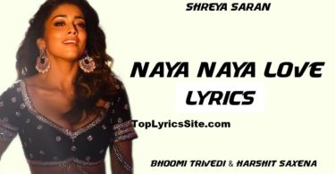 Naya Naya Love Lyrics