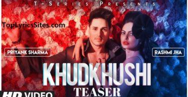 khudkhushi lyrics