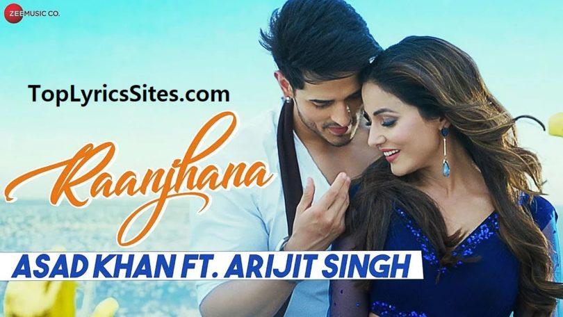 raanjhana lyrics