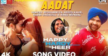 Aadat Lyrics