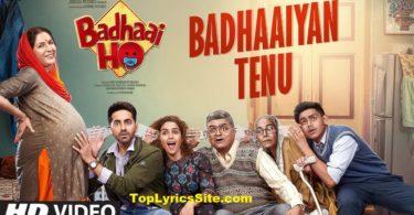 Badhaaiyan Tenu Lyrics