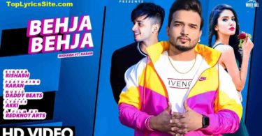 Behja Behja Lyrics