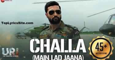 Challa (Main Lad Jaana) Lyrics