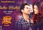 Halka Halka Suroor Lyrics