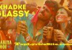 Khadke Glassy Lyrics