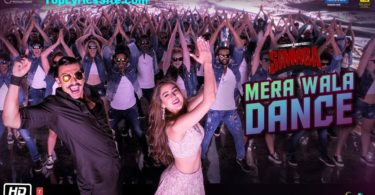 Mera Wala Dance Lyrics