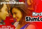 Mirchi Shimle Di Lyrics