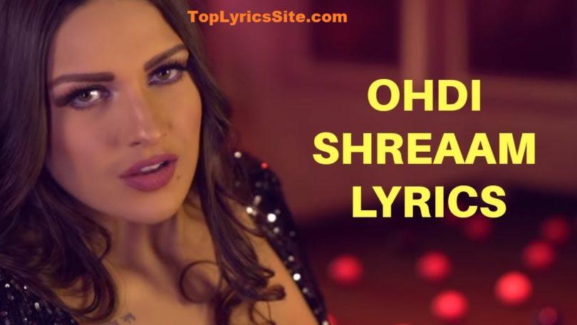 Ohdi Shreaam Lyrics