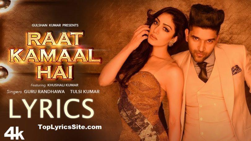 Raat Kamaal Hai Lyrics