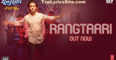 Rangtaari Lyrics