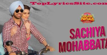 Sachiyan Mohabbatan Lyrics