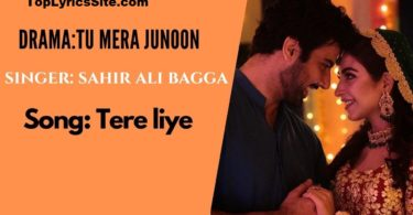 Tere Liye OST Lyrics