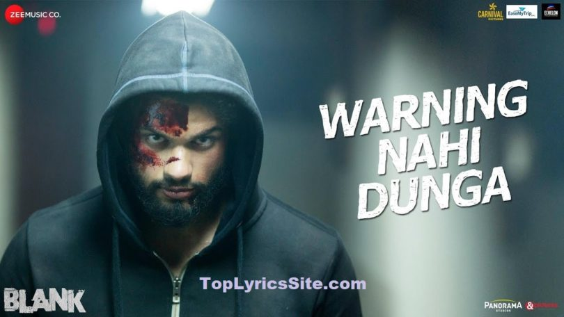 Warning Nahi Dunga Lyrics