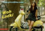 Woh Ladki Lyrics