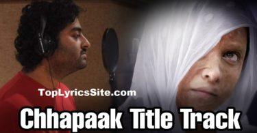chappak title track lyrics