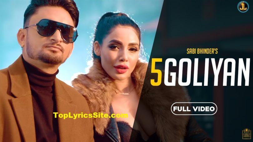 5 Goliyan Lyrics