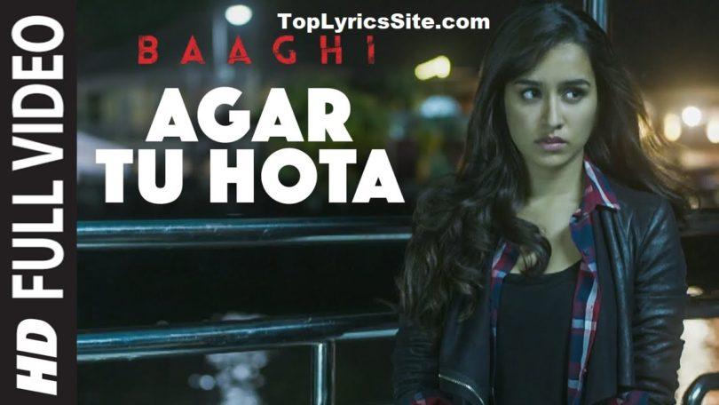 Agar Tu Hota Lyrics