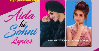 Aida Hi Sohni Lyrics