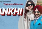 Ankhi Lyrics