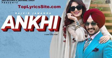 Ankhi Lyrics