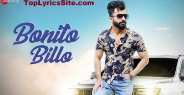 Bonito Billo Lyrics