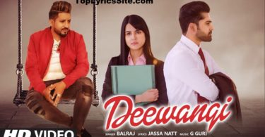 Deewangi Lyrics