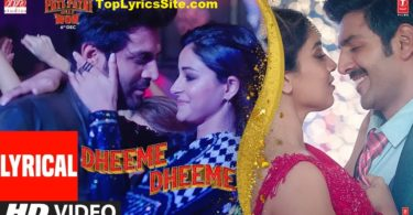 Dheeme Dheeme Lyrics