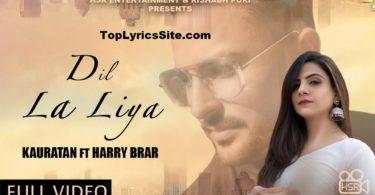 Dil La Liya Lyrics