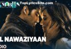 Dil Nawaziyaan Lyrics