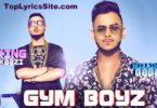 Gym Boyz Lyrics
