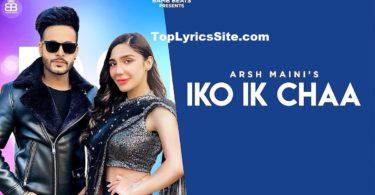 Iko Ik Chaa Lyrics