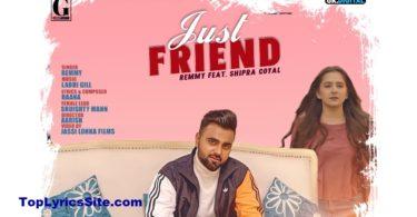 Just Friend Lyrics