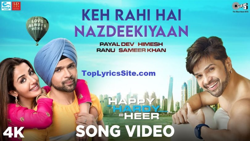 Keh Rahi Hai Nazdeekiyaan Lyrics