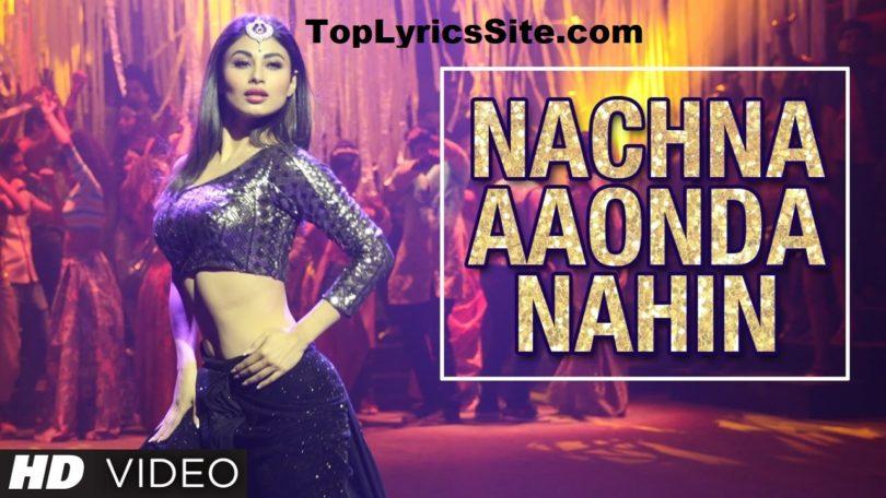 Ki Kariye Nachna Aaonda Nahin Lyrics