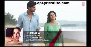 Le Chala Lyrics