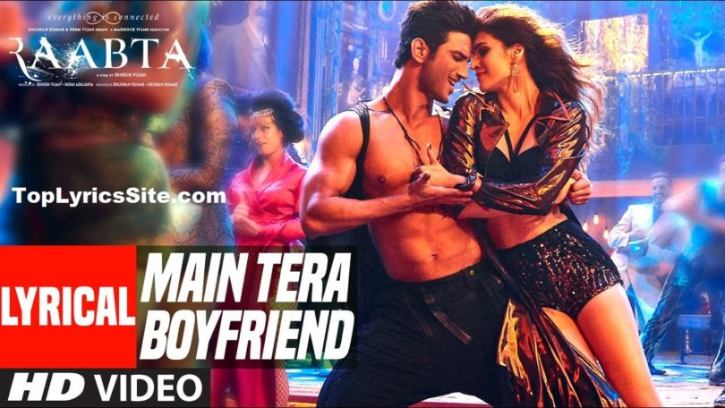 Main Tera Boyfriend Lyrics