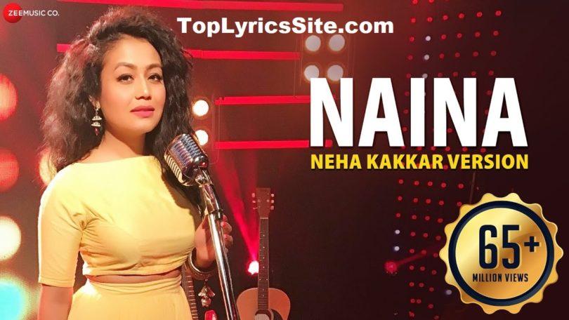 Naina Lyrics