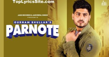 Parnote Lyrics