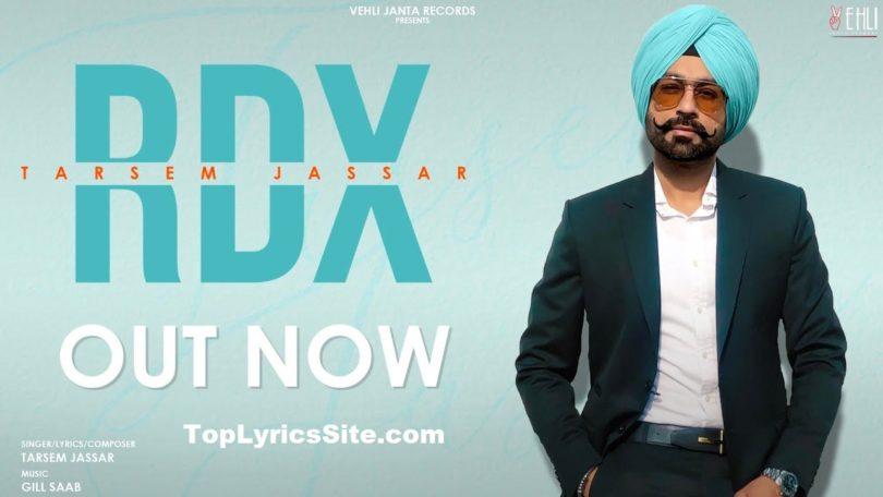 RDX Lyrics