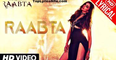 Raabta Title Song Lyrics