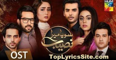 Soya Mera Naseeb OST Lyrics