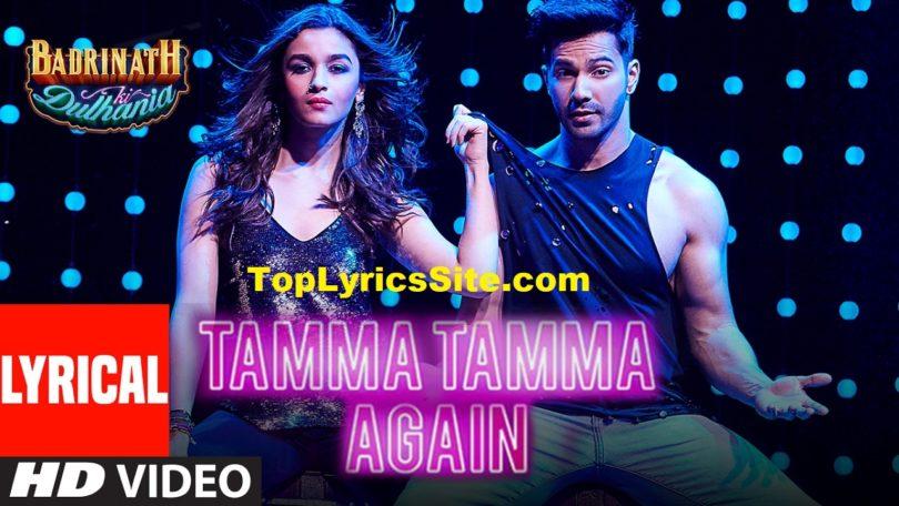 Tamma Tamma Again Lyrics