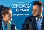 Zindagi Di Paudi Lyrics