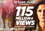 Afghan Jalebi Lyrics