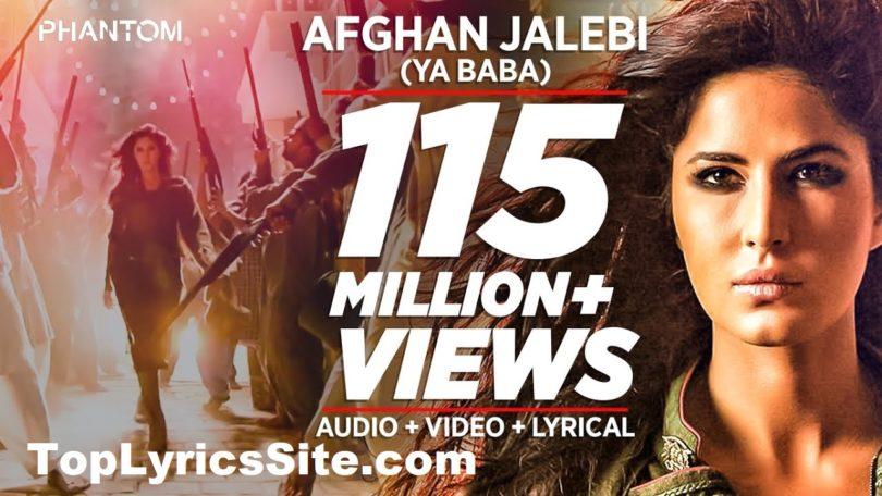 Afghan Jalebi Lyrics