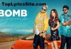 Bomb Lyrics