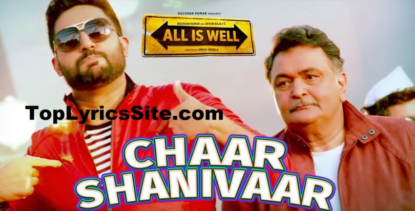 Char Shanivar Lyrics