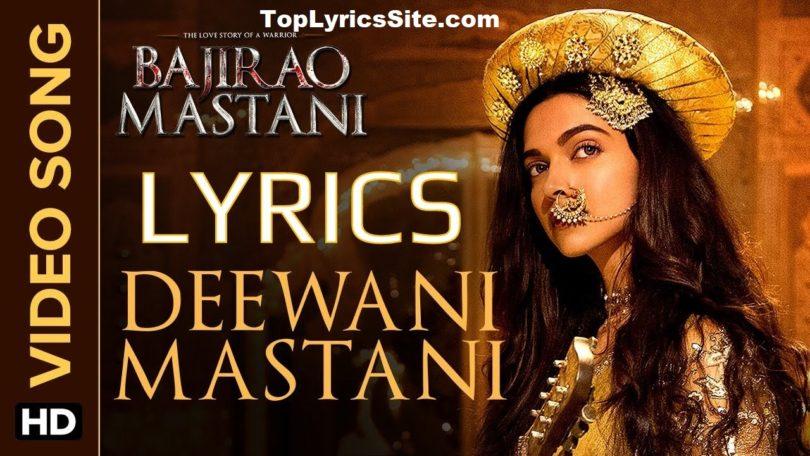 Deewani Mastani Lyrics
