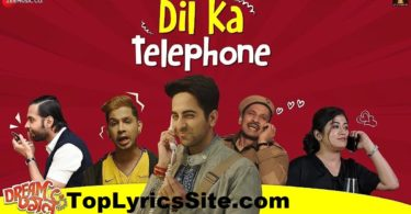 Dil Ka Telephone Lyrics