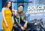 Dolce Gabbana Lyrics